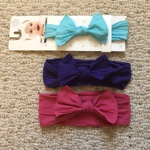 Set of 3 Baby Bling Bows